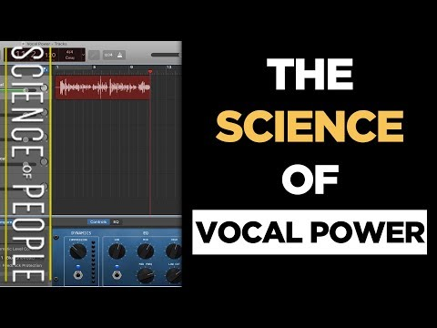 Can You Make Your Voice Sound Better? Use the Science of Vocal Power