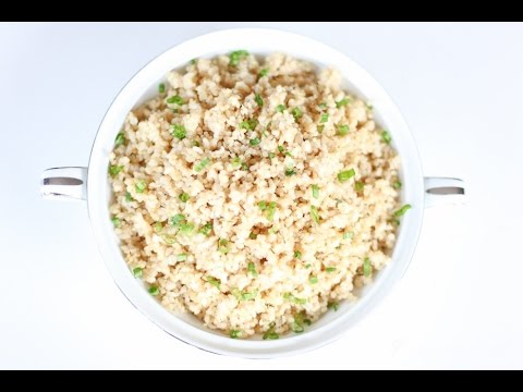 HEALTHY EATS 2: Rice Cooker Brown Rice and Sprouted Quinoa