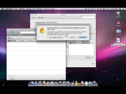 Usare il proprio MAC come server FTP