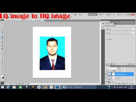 How to convert dull  picture to clear picture in Photoshop