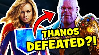 Download AVENGERS ENDGAME Captain Marvel Thanos Theory Video