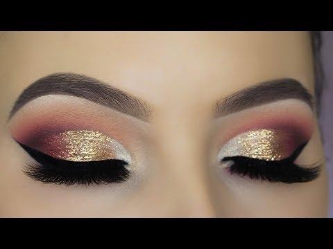 Glitter Glam Eye Makeup Tutorial