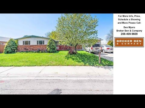 1839 N Crestmont Dr, Meridian, ID Presented by Ben Myers.