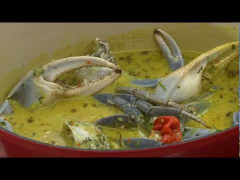 Tobago's Crab and Dumplings