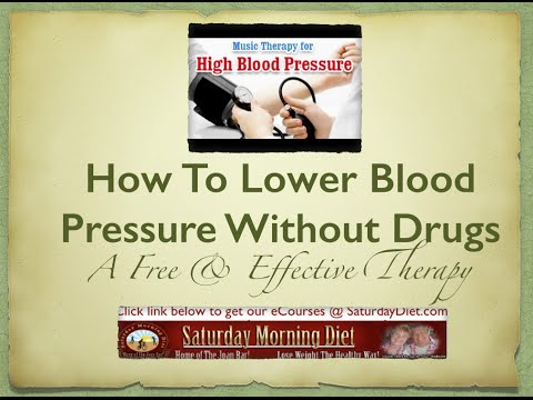 How To Lower Your Blood Pressure Without Drugs