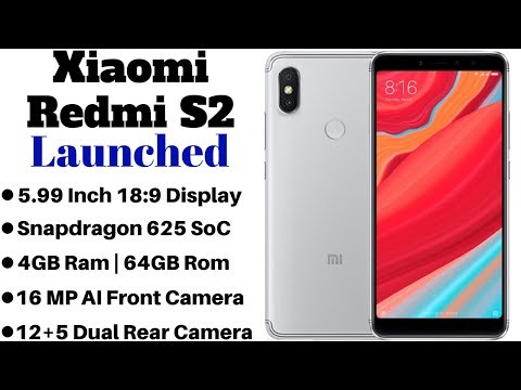 Xiaomi Redmi S2 Launched With 16 MP AI Front Camera,18:9 Display | Price Specification Details.