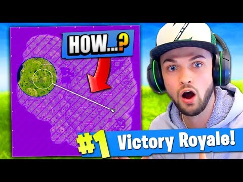 WINNING Fortnite: Battle Royale IN THE STORM...! (CRAZY)