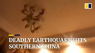 Download Deadly earthquake hits southern China's Sichuan province Video