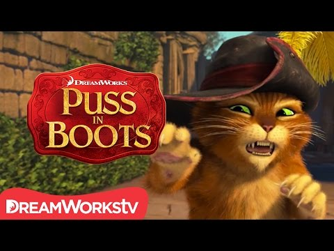 The Paw Is Mightier Than The Sword | NEW PUSS IN BOOTS
