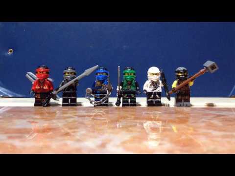 LEGO NINJAGO MOVIE CUSTOM ALL NINJA SUITS:KAI, NYA, JAY, LLOYD, ZANE AND COLE