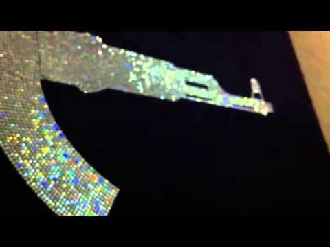 AK47 Swarovski Crystals