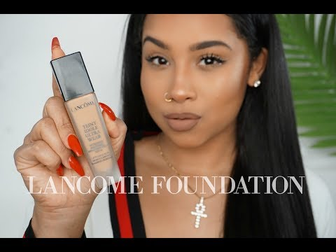 CHIT CHAT GRWM: LANCOME $50 FOUNDATION REVIEW | TheAnayal8ter