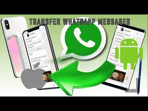 How to Transfer WhatsApp Messages from Android to iPhone?