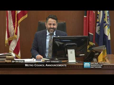 06/16/20 Announcements and Metro Council Meeting