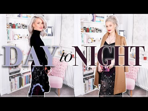 HOW TO TAKE YOUR LOOK FROM DAY TO NIGHT   MAKEUP, HAIR & OUTFIT