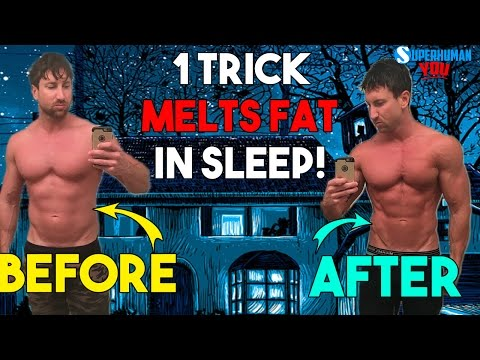 The ONE Trick to BURN FAT in your SLEEP!