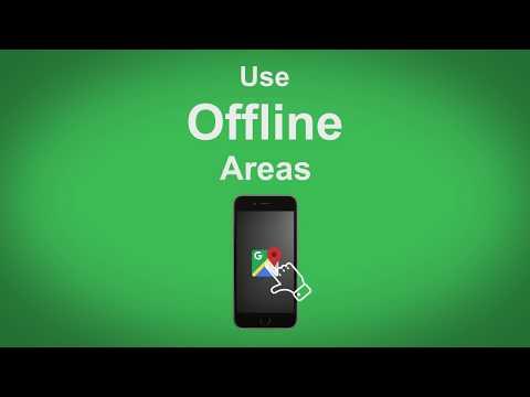 Google Maps   Use Offline Areas
