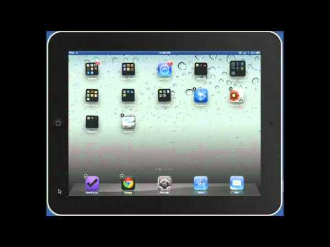 Cleaning up your home screen on your iPad