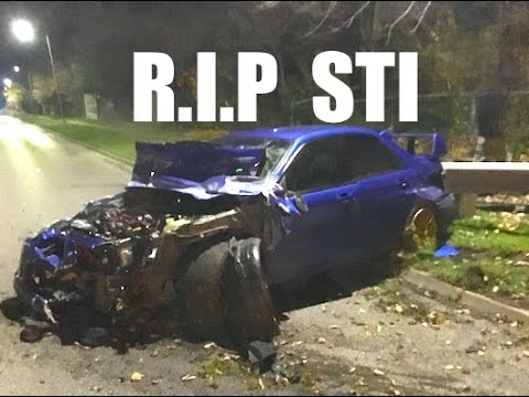 WRX STI BUILD: Ep.1 - The CRASH !
