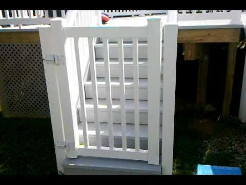 Pool Deck Safety Gate by Decks NJ.com