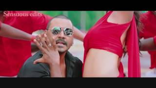 Nikki Galrani hot navel show in saree from Motta Shiva Ketta Shiva (slow motion edit) Full HD 1080p