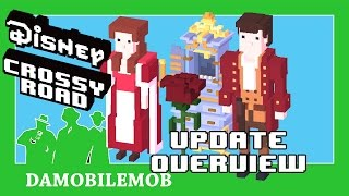 ★ Disney Crossy Road BEAUTY AND THE BEAST Update Overview NEW FEATURES