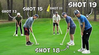 How Many Holes Can We Play With 21 Strokes - $50 Challenge