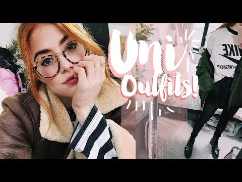 WEEK IN UNI OUTFITS #5 | MsRosieBea