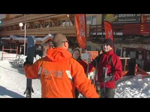 Direct Ski La Plagne Resort Film