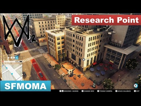Watch Dogs 2 - Research Point / Roof Top in SFMOMA