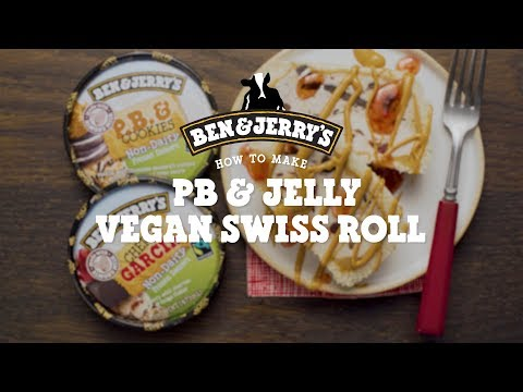PB & Jelly Vegan Swiss Roll | Ben & Jerry's