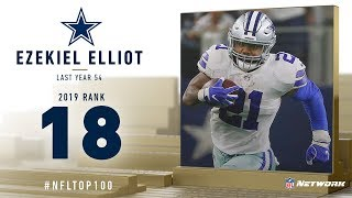 #18: Ezekiel Elliott (RB, Cowboys) | Top 100 Players of 2019 | NFL