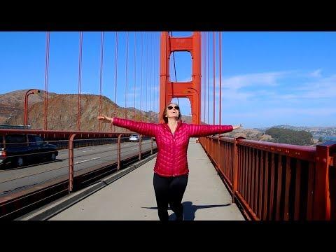 GOLDEN GATE BRIDGE   Finally making it to San Francisco