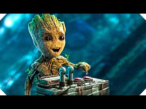 Guardians of the Galaxy 2 - BABY GROOT Button Clip !