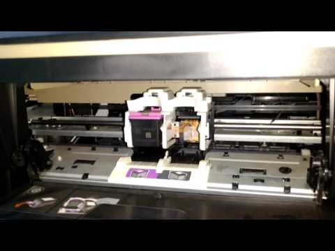 How to replace cartridge in any HP Printer | Hindi