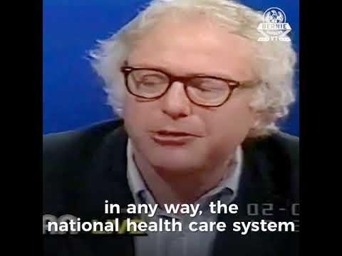 Bernie in '89: End Profit-Driven Health Care