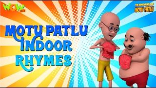 Indoor Rhymes - Motu Patlu Rhymes - Available Worldwide!