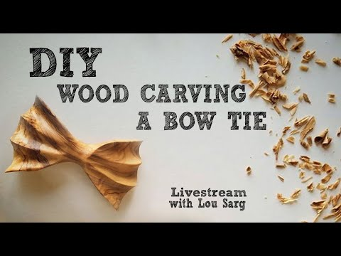 🔴 [ LIVE STREAM ]  DIY Woodcarving Bow Ties in Central Park