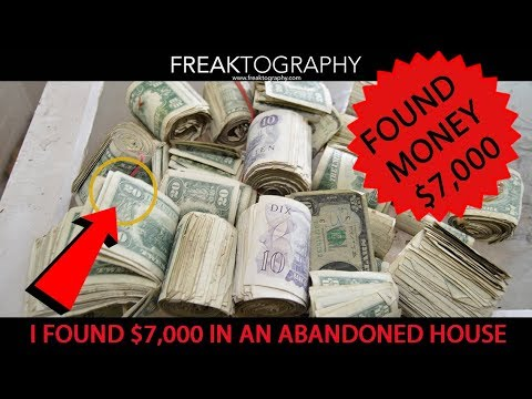 FOUND MONEY Lost For 30 Years Exploring an Abandoned House