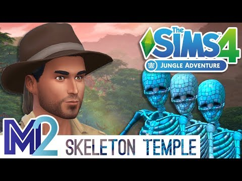The Sims 4 - Jungle Adventure Skeleton Temple (Early Access)