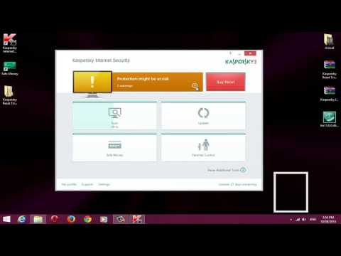 How to get kaspersky ANTIVIRUS 2015 activated for lifetime  Free! SEE WORKING FROOF