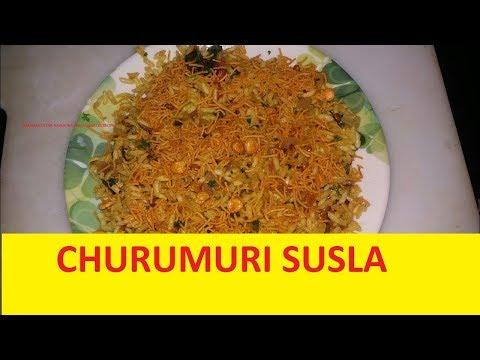 Mandakki oggarane susla recipe Uttar Karnataka da special puffed rice