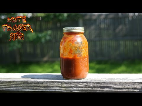 Smoky Homemade Barbecue Sauce