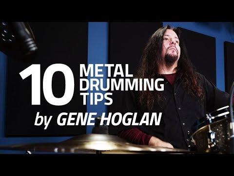 10 Metal Drumming Tips by Gene Hoglan (FULL DRUM LESSON)
