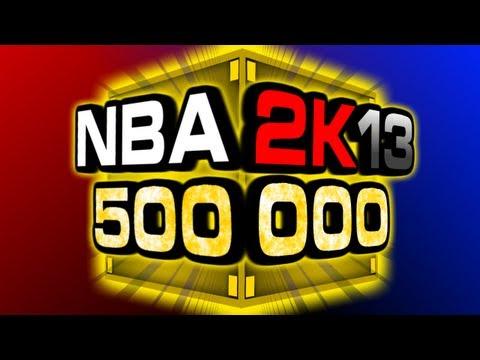 NBA 2K13 My Team 500,000 VC Pack Opening