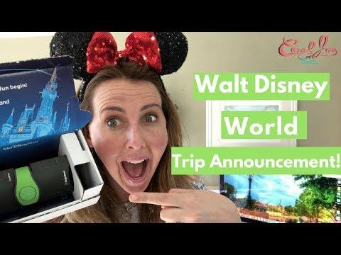 Walt Disney World Trip Announcement | May  2018