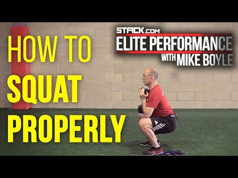 How To Squat Properly featuring Mike Boyle