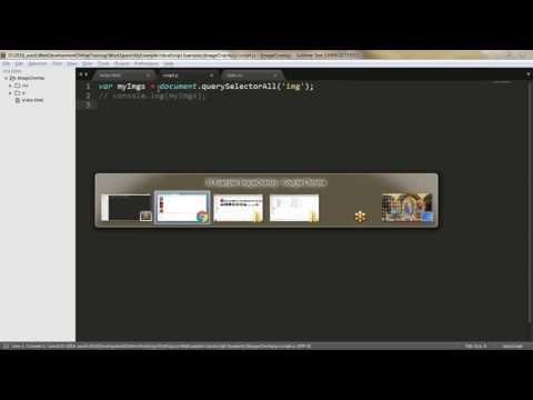 Image Overlay Javascript Example