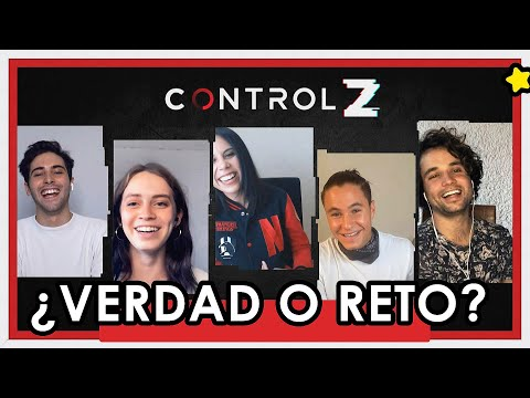 CONTROL Z - El elenco de Netflix confiesa todo. 🔥