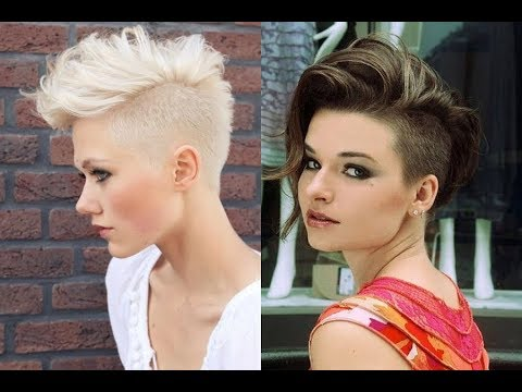 Girls New Fade Haircuts 2018 - Trendy Undercuts